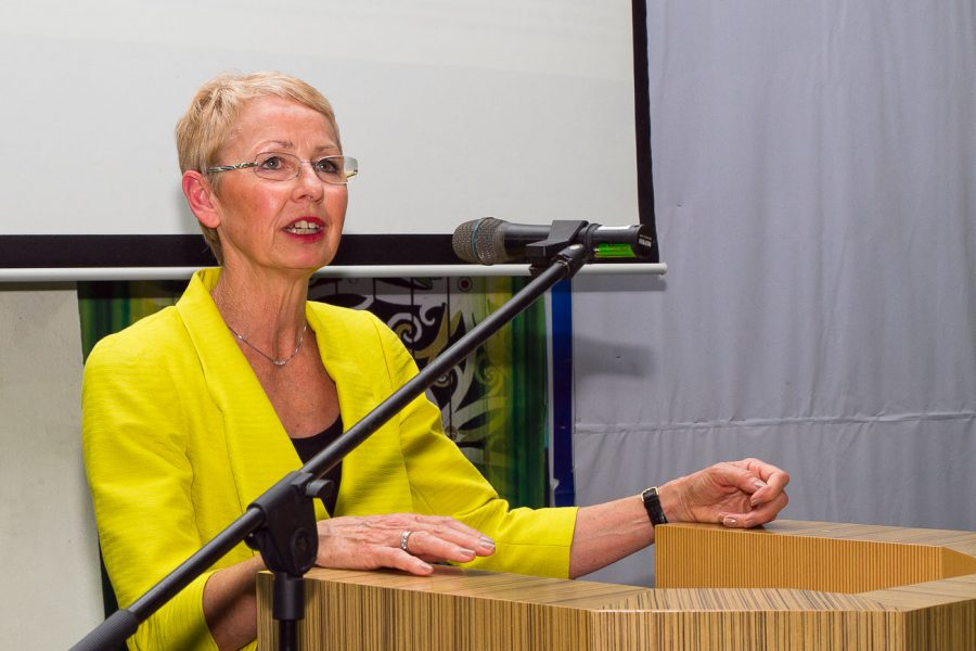 Curtin University Malaysia - Jeanette Hackett, Vice Chancellor giving speech