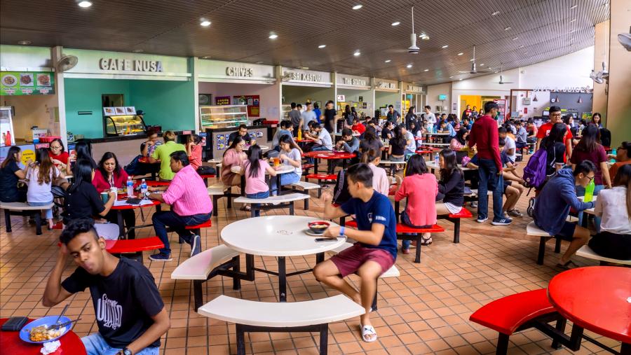 Curtin University Malaysia Miri Sarawak General Administration Cafeteria