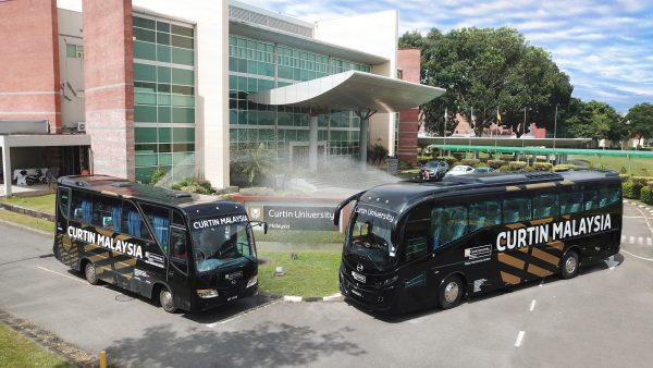 Curtin University Malaysia Miri Sarawak General Administration Transport Fleet Management Bus